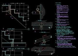 stair details cad library autocad blocks autocad