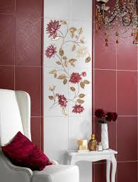 hand painted wall tiles simple ways to decorate old bathroom and