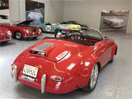 outlaw porsche for sale 1957 porsche outlaw speedster for sale classiccars com cc 652584