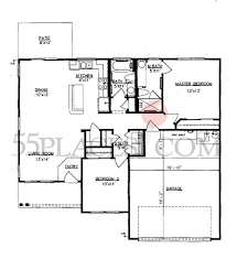 lavaca floorplan 1121 sq ft sun city texas 55places com