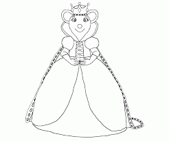 angelina ballerina colouring pages funycoloring