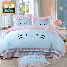 Kitten Bedding Set Adorable Cat Print Comforters And Bedding Sets For Cat Lovers
