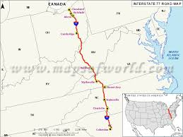 und cus map us interstate 77 i 77 map columbia south carolina to