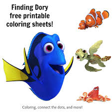finding dory coloring sheets discover ideas marlin
