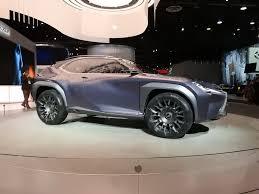 lexus di jakarta ux concept perlihatkan visi suv kecil mewah lexus di masa depan