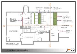 basement home theater plans basement decoration