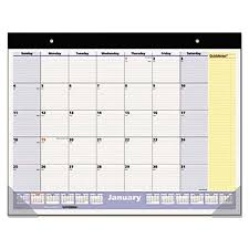 cool desk pad calendars at a glance sk70000 22 x 17 monthly january 2018 january 2019