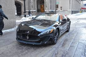 maserati gt black 2014 maserati granturismo mc convertible stock m267 s for sale