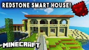 fan made modern redstone smarthouse w secret rooms working