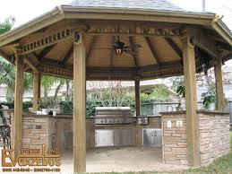 Outdoor Fireplace Houston by Outdoor Kitchen U0026 Fireplace Builder In Houston Texas Ev Decks