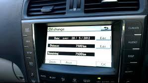lexus service maintenance lexus is250 service reset service interval 2010 youtube