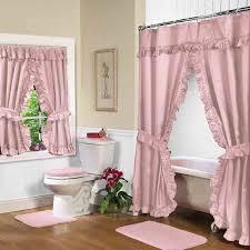 Bathroom Window Curtains Style Inspiration Home Designs - Bathroom curtains designs