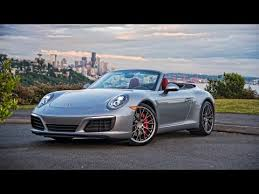 porsche s cabriolet 2017 porsche 911 s cabriolet review