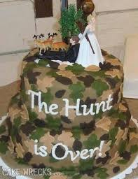 camo cake toppers cake wrecks home the hunt is