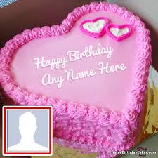 cake for create birthday cake for boyfriend with name and photo
