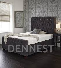 Bed With Headboard Upholstered Beds Handmade In The Uk