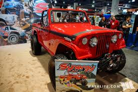 jeep commando hurst 2017 sema synergy jkc 1 jeepster commando