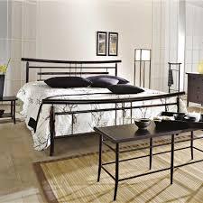 Schlafzimmer Bett Metall Bett Dirinon Aus Metall Im Asia Design Pharao24 De