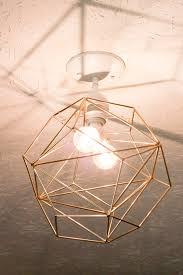Pendant Light Diy Diy Geometric Pendant Light Erin Spain