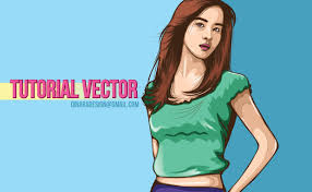 jual tutorial illustrator 02 tutorial vector portraits using adobe illustrator youtube
