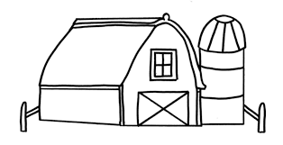 Barn Coloring Pages Getcoloringpages Com Farm Color Page