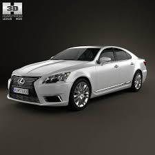 lexus vehicle models lexus ls xf40 2012 3d model hum3d