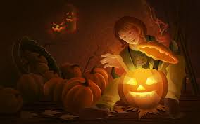 scary halloween wallpaper hd jack o lantern scary halloween id 61327 u2013 buzzerg
