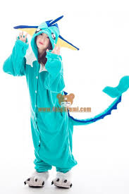 Pajama Halloween Costume Ideas Pokemon Go Costumes Vaporeon Kigurumi The Little Green Men