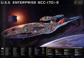 enterprise e cutaway cutaways pinterest cutaway star trek