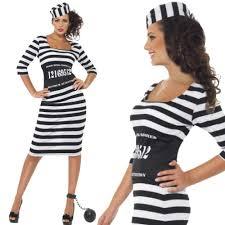 fancy dress orange jumpsuit zombie death row inmate costume