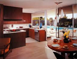 Mid Century Modern Kitchen by George Muraki Bloomberg Mid Century Modern Model Home Sacramento