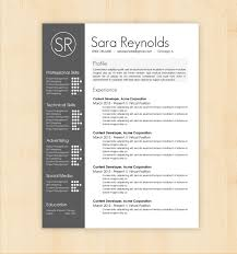 creative resume word template cv template free design best of cv resume template word resume