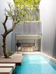 Interior Courtyard Internal Courtyard Or An Airwell Typical To Most Shophouses In