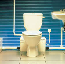 well suited toilet with pump for basement toilets new ideas