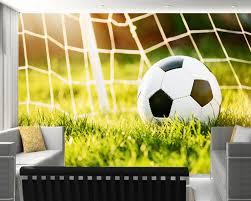 deco chambre foot achetez en gros football papier peint en ligne à des grossistes