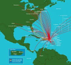 Delta Route Maps by Hilton Caribbean Cluster Getting To Puerto Rico