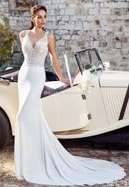 sheath wedding dresses open v back sheath wedding dresses 2018 eddy k bridal sleeveless