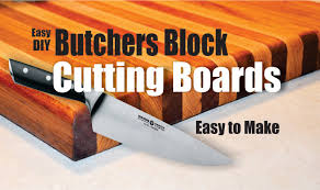 how to easily make a butchers block cutting board youtube