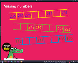 space safari number patterns missing number sequences rm