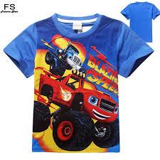 blaze monster machines tees clothing children tshirts baby boys