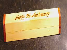fifth anniversary gift ideas for him 5th wedding anniversary gift ideas for him make me something