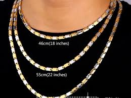 necklace length men images 66 chain for mens necklace the gallery for golden gangster chain jpg