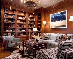 bookcase lighting family room traditional with wood paneling