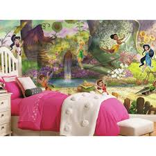 roommates 72 in x 126 in disney fairies pixie hollow ultra disney fairies pixie hollow ultra strippable wall