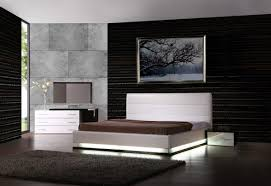 Black And White Modern Bedroom Designs Furniture Outstanding Image Of Modern Furniture For White Bedroom