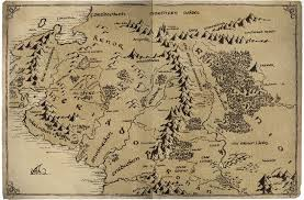 map hobbit the hobbit middle earth map major tourist attractions maps