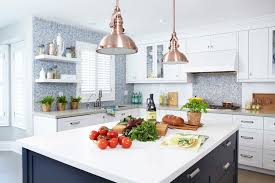 blue kitchen cabinets toronto toronto blue kitchen tile contemporary with navy island