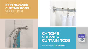 chrome shower curtain rods best shower curtain rods selection