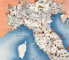 Train Map Italy by Settebello An Italian Designer Train From The 1950s Retours