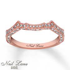 Neil Lane Wedding Rings by Kay Neil Lane Wedding Band 3 8 Ct Tw Diamonds 14k Rose Gold